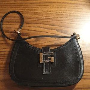Gucci Black Gold Shoulder bag